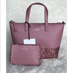 Kate Spade Ina Greta Court Satchel and wallet